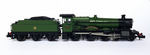 Osborns Dapol Exclusive Arlington Grange 6800 GWR Green Unlined Shirtbutton Livery as built